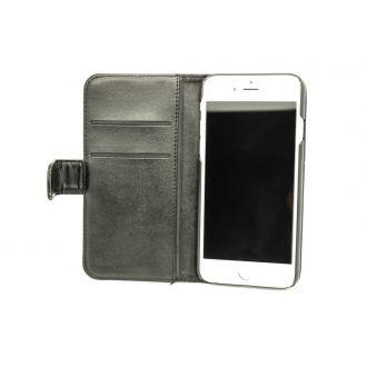 Étui en simili cuir - iPhone 6 - Horizontal - Noir