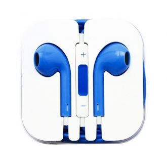 ÉcouteursiPhone iPod iPad - Bleu