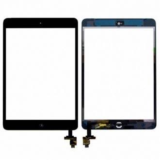 Tactile iPad mini + connecteur IC - Noir