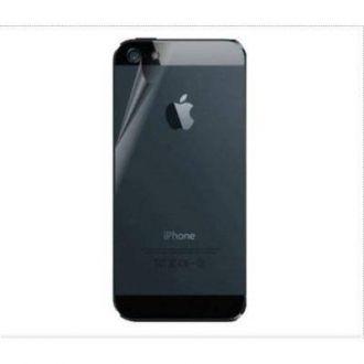 3 x Film de protection ARRIÈRE- iPhone 5 & 5S - Transparent
