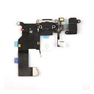 Dock interne complet - Charge, antenne réseau, jack et micro - iPhone 5 - Noir