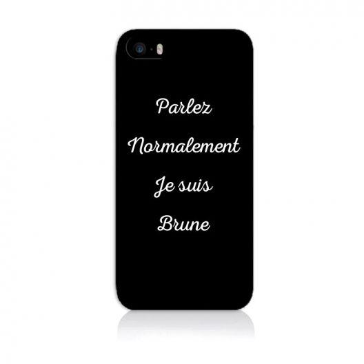 coque iphone 5 texte