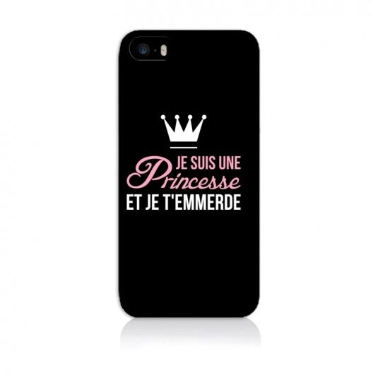 coque iphone 6 citation princesse