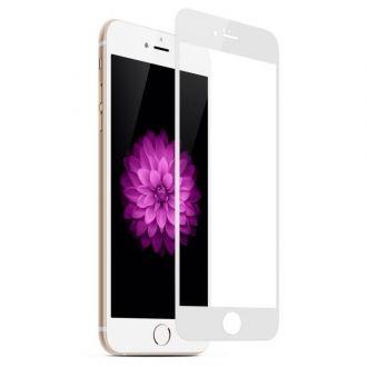 Film en Verre Trempé intégrale - iPhone 8 - Blanc