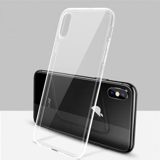 Coque ultra fine SILICONE - iPhone X - Transparent