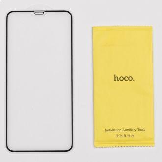Film en Verre Trempé intégral HOCO G5 - iPhone X / XS / 11 Pro - Noir