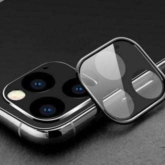 Protection caméra en verre trempé HOCO A18 - iPhone 11 Pro / 11 Pro Max - Noir