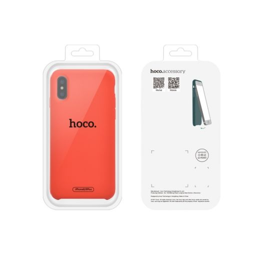 Coque HOCO Pure Series iPhone 11 Silicone - NOIR