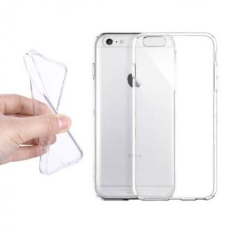 Coque ultra fine SILICONE - iPhone 6S Transparent