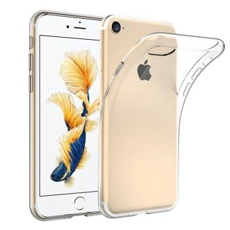 Coque ultra fine SILICONE - iPhone 7 - Transparent