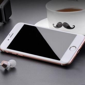 Film en Verre Trempé intégrale - iPhone 7 & 8 - Blanc