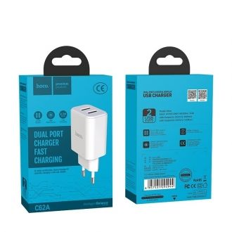 Chargeur HOCO C62A 2.1A 2USB